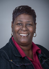 Pictured is Barbara Baker, who serves as the Advocate Director and Peer Support Specialist at the Center for Women in Transition.